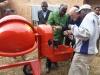 new mixer machine with fuel motor